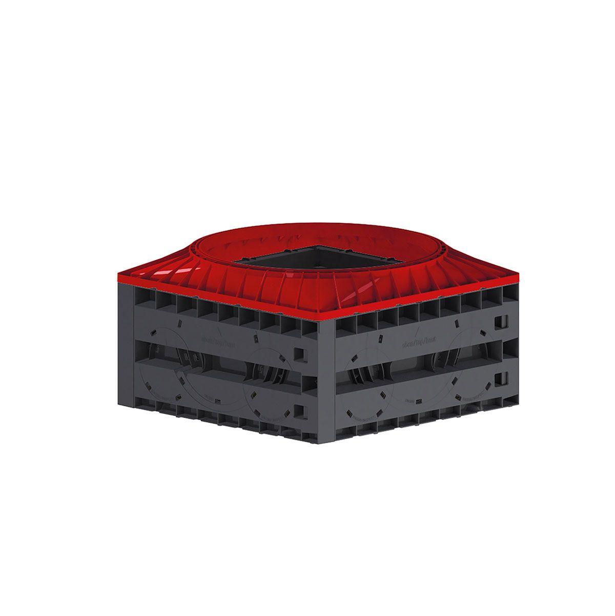 Schachtsystem Vario 800, 1.0 Lagen